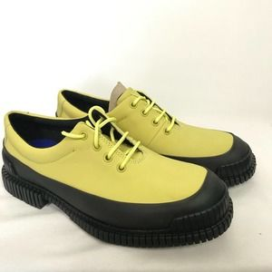 Camper Pix Formal Shoes in Yellow 10 NEW